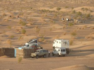 Camping in the Dunes close to Douz | Tunesia