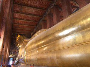 Golden Buddha inside Wat Pho, Bangkok | Thailand