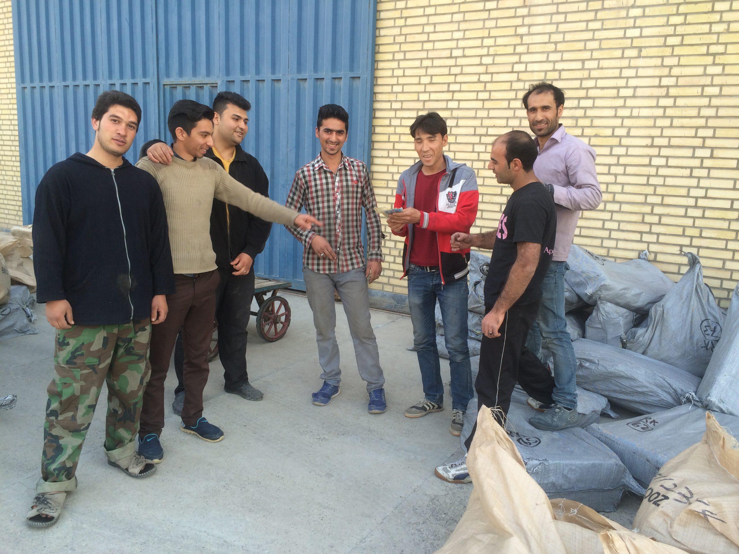 Payday in Teheran | Iran