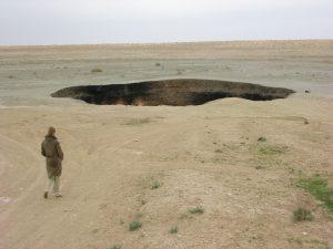 Famous Gas Crater of Karakum | Türkmenistan