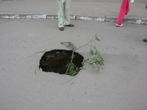And Pot Holes as well | Ukraine