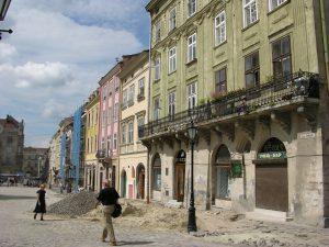 Lviv Rinok - Market under Construction | Ukraine