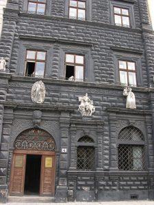 Black House at Lviv Rinok | Ukraine