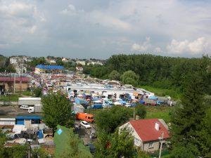 Cossack Market in Lutsk | Ukraine