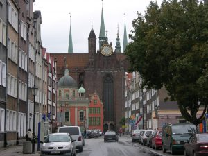 St Mary's Cathedral in Gdansk   Poland