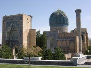 Tamerlan's Mausoleum closeby in Samarkand |Uzbekhistan