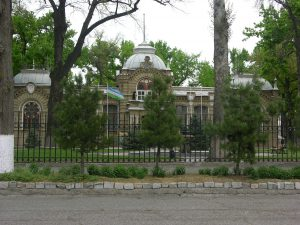 Decent Romanov Palace opposite | Uzbekhistan