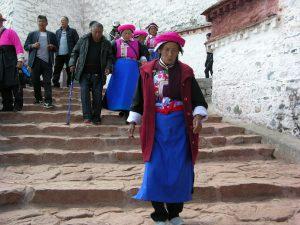 Classic Style Tibet Women at Potala | CHina