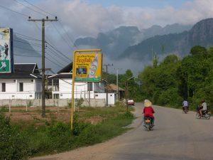 Karst Landscape in Vang Vien's Rain Forest | Laos