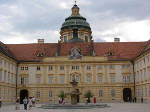 Famous Melk Monastery at Danube River | Austria