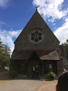 Expecting Royal Family at Crathie Chruch | Scotland