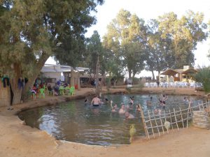 Taking a Bath in Ksar Ghilane | Tunesia