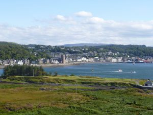 View over Oban West Coast | Scotland
