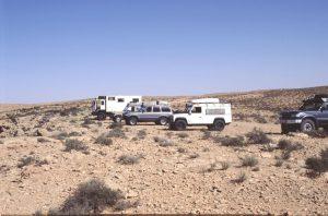 The Cars in Tunesia