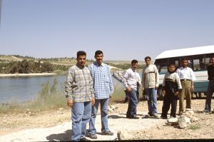 Native Tourists at Assad Lake| Syria