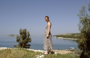 European Tourists at Assad Lake as well   Syria