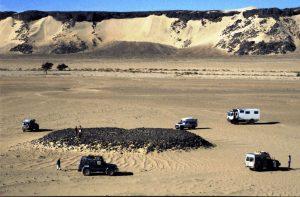 Stone Grave close to Niger Border | Algeria