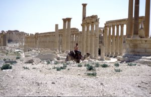 Traffic in Palmyra | Syria