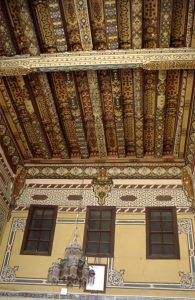... but the Wooden Roof is Art | Syria