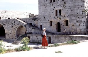 Famous Crusader Castle Craque de Chevalier close to Libanon Border | Syria