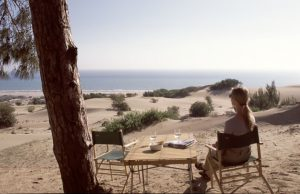 Fine Camping at Turtle Beach   Turkey