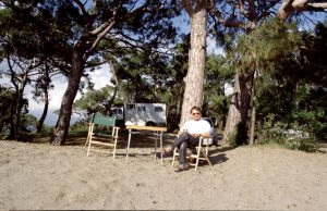 Driver Rest at Turtle Beach | Turkey
