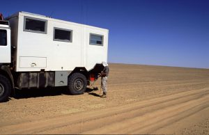 Adjusting Tire Pressure due to Sahara Dunes