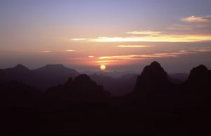 And watch Sun rising above Hoggar | Algeria