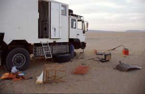 Unscheduled Maintenance in the Desert